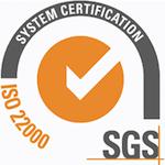 Pafigal - Certificado HACCP ISO 22000